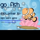 "Dolch Sight Words ""Go Fish"" Primer List"