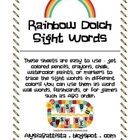 Dolch Sight Words Pack