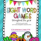 Dolch Sight Words Throughout the Year Game (Preprimer-Thir