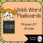 Dolch Word Flashcards