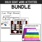 Dolch Words, Nouns, & Phrases {Flashcards, Games, & Assessments}