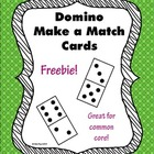 Domino Cards for Matching and Games - FREEBIE!