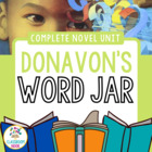 Donavan's Word Jar: Novel Study {Common Core and Word Stud