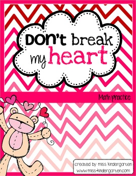 Don't Break My Heart- Math Practice