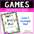 Don't Bug Me {A game for beginning Division}