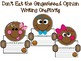 Don't Eat the Gingerbread Writing Craftivity