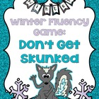 Don't Get Skunked Winter Word Edition Game: Grades 1-2