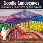 Doodle Landscape - Elements of Art Project