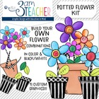 Doodle Potted Flower Kit: Build Your Own Flower Combinations!!!