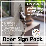 Door Sign Pack