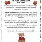 Dot Dot Not a Lot! Fine Motor ARTivity- Apples Theme