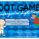 Dot Games with Sight Words