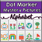 Dot Marker Alphabet Mystery Picture Activities