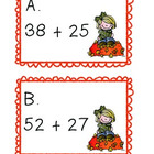 Double Digit Addition: Adding on an Open Number Line
