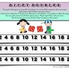 Doubles Math Facts Game