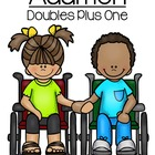 Doubles Plus One In Addition Quick and Easy Center - Cute