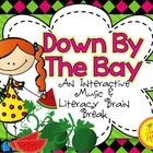 Down By The Bay Music and Literacy Brain Break {Rhyming Focus}