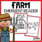 Down at the Farm Book {Emergent Reader}