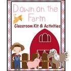 Down on the Farm Classroom Kit and Activities