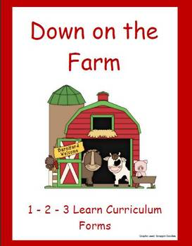 Down on the Farm Forms