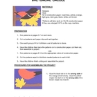 Downloadable Baltimore Oriole Cut and Paste Art Project Pa