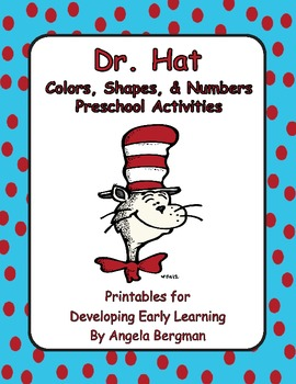 Dr. Hat ~ Color, Shapes, and Numbers (Preschool Activities)