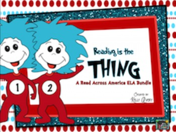 Dr. Seuss, Reading Comprehension, Pronouns, Dictionary Skills, Writing