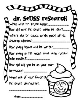 It's just a photo of Intrepid Dr Seuss Printable Activities