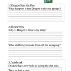 Dragon Gets By: Comprehension Questions