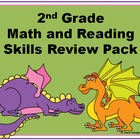 Dragon Themed 2nd Grade Skills Pack