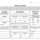 Drama Writing Graphic Organizer