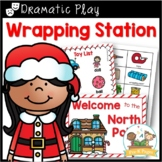 Dramatic Play Holiday Wrapping Station for Pre-K and Kindergarten