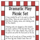 Dramatic Play Picnic Set