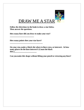 Draw Me A Star by Eric Carle math book response