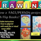 Draw a boy girl face, Draw a boy girl person!  Flip books