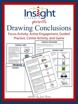 Drawing Conclusions Focus Activity, Guided Practice, Game, Center