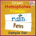Drawn Homophones - Free