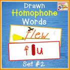 Drawn Homophones - Word Wall - Set 2