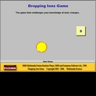 Dropping Ions Game - Single License