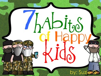 Duck Dynasty 7 Habits of Happy Kids Posters