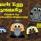 Duck Egg Dynasty Clip Art Collection-Commercial Use Fun!