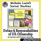 Duties & Responsibilities of Citizenship Centers Activity