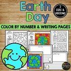 EARTH DAY Coloring and Writing Sheets, Recycle, Reduce, Reuse