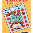 Analogies for Grades 1-3 Bingo Game
