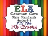 ELA Common Core Standards: Grades 6-8 Full Size Binder Fli