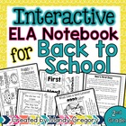 ELA Interactive Notebook for August (2nd Grade)