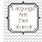 Language Arts Classroom Journal for Notes