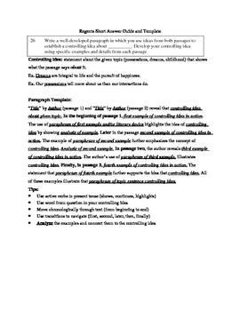 How to Write an English Regents Task Essay   eHow