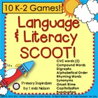 ELA Scoot Games for K-2
