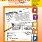 Daily Geography Practice: Grade 1 (Enhanced eBook)